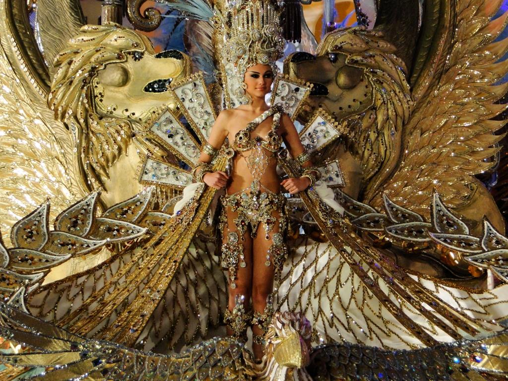 Reina del Carnaval de Tenerife 2012