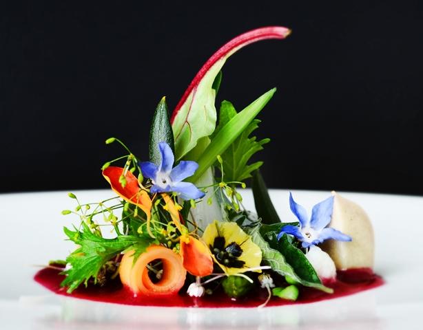 Starters-at-restaurant-La-Cupula-Hotel-Jardines-de-Nivaria