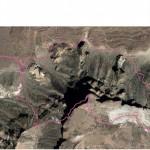 Mount-Teide-round-route-Parador-Guajara-Parador-map