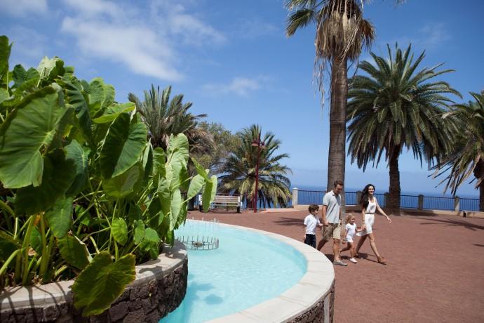 Tenerife-Puerto-de-la-cruz-Parque-Taoro