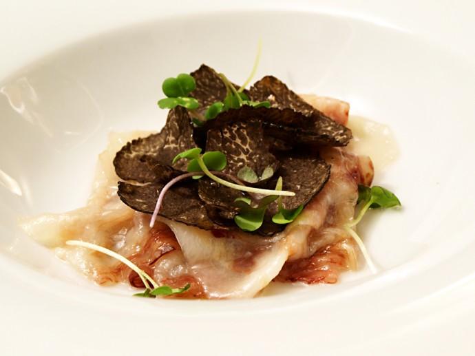 Pork-neck-and-truffles-Restaurant-Rincon-de-juan-carlos