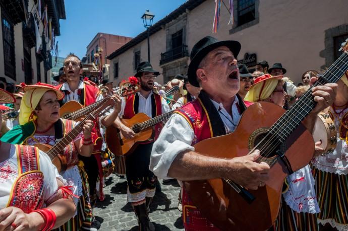Romeria La Orotava, music